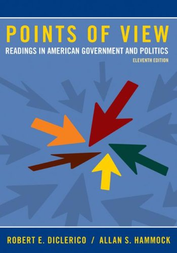 9780073403908: Points of View: Readings in American Government and Politics