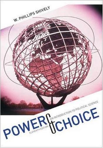 9780073403915: Power & Choice: An Introduction to Political Science