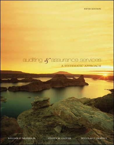 9780073403946: Auditing & Assurance Services: A Systematic Approach, 5th Edition