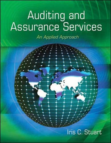 9780073404004: Auditing and Assurance Services: An Applied Approach