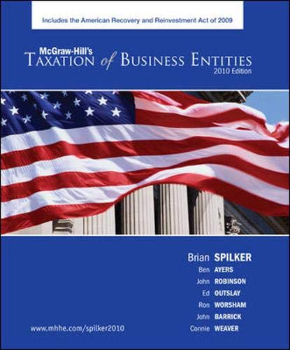 9780073404035: Taxation of Business Entities, 2010 edition