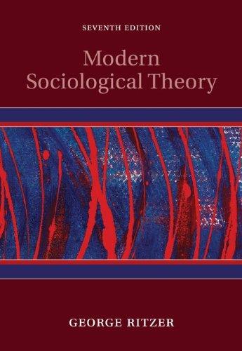 9780073404103: Modern Sociological Theory