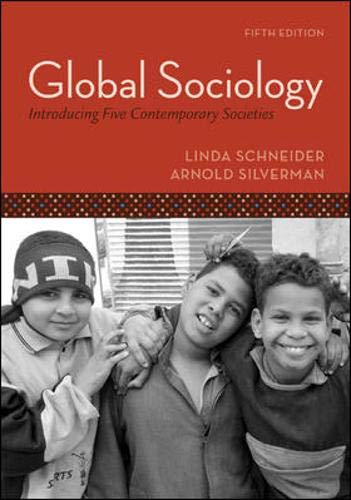 9780073404189: Global Sociology: Introducing Five Contemporary Societies