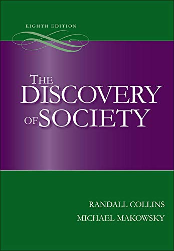9780073404196: The Discovery of Society, 8th Edition