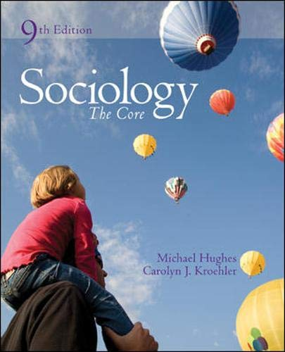 9780073404257: Sociology: The Core