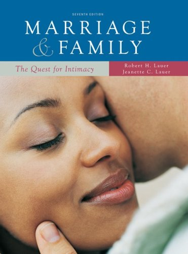 9780073404288: Marriage and Family: The Quest for Intimacy (7th Edition)