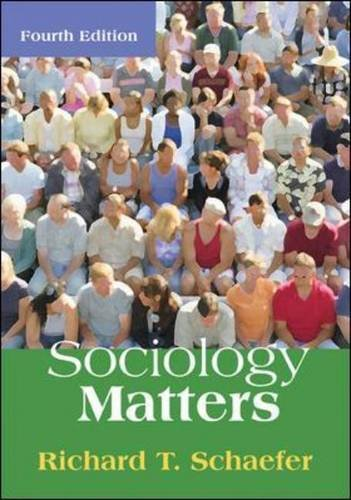 9780073404318: Sociology Matters