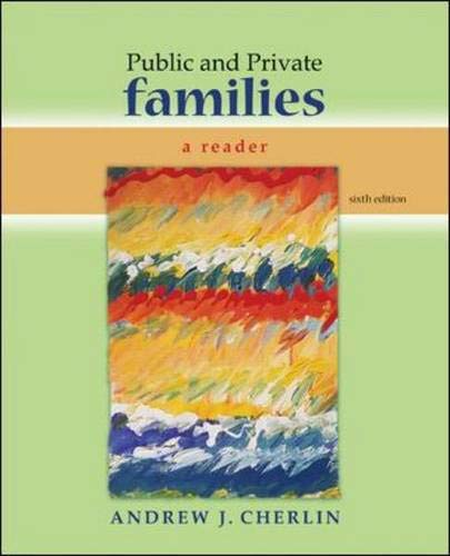 9780073404363: Public and Private Families: A Reader