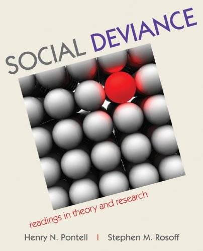 9780073404417: Social Deviance: Readings in Theory and Research