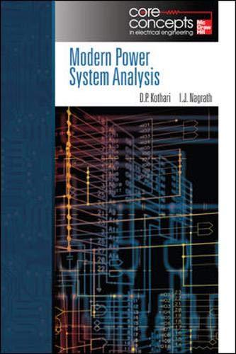 9780073404554: Modern Power System Analysis