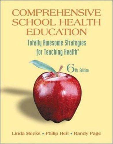 9780073404622: Comprehensive School Health Education