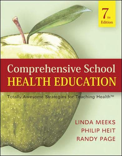 9780073404660: Comprehensive School Health Education: Totally Awesome Strategies For Teaching Health