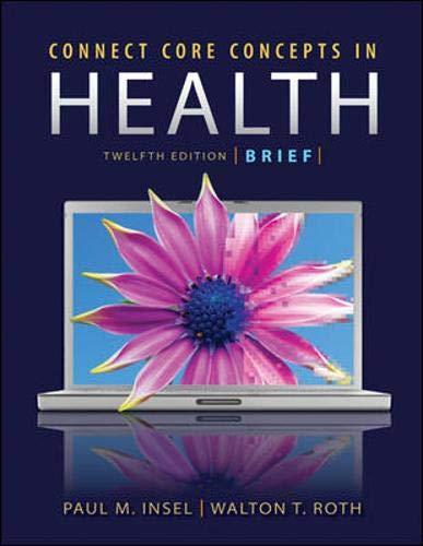 9780073404677: Connect Core Concepts in Health, 12e Brief Loose Leaf Version