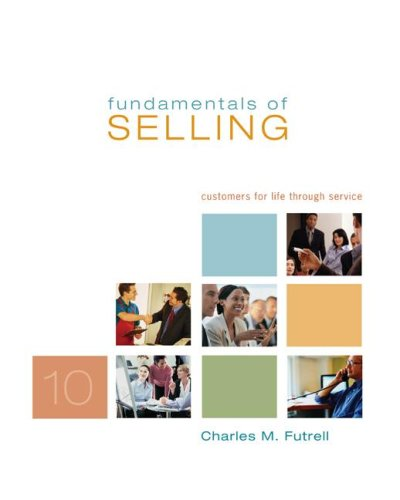 9780073404691: Fundamentals of Selling