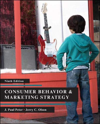 9780073404769: Consumer Behavior (9th Edition)