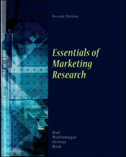 9780073404820: Essentials of Marketing Research