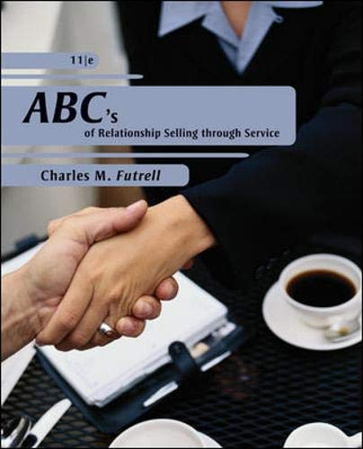 9780073404844: ABCs of Relationship Selling