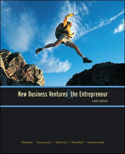 9780073404974: New Business Ventures And The Entrepreneur