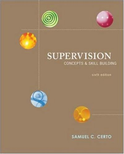 9780073405001: Supervision: Concepts and Skill-Building