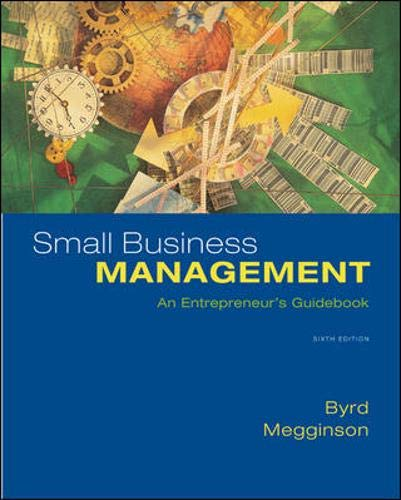 9780073405070: Small Business Management: An Entrepreneur's Guidebook