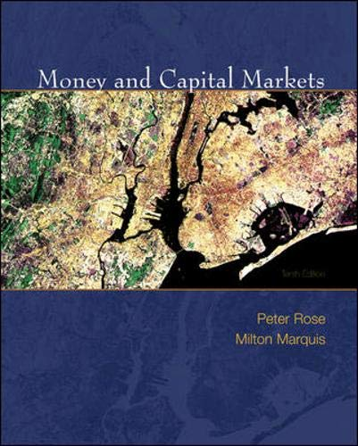 9780073405162: Money and Capital Markets