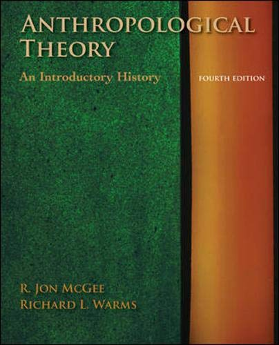 9780073405223: Anthropological Theory: An Introductory History