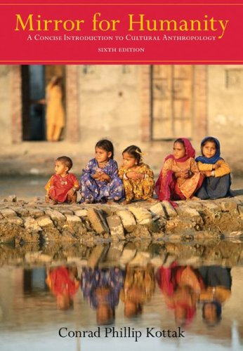9780073405247: Mirror for Humanity: A Concise Introduction to Cultural Anthropology