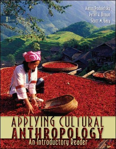 9780073405339: Applying Cultural Anthropology: An Introductory Reader