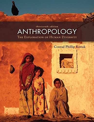 9780073405360: Anthropology: The Exploration of Human Diversity