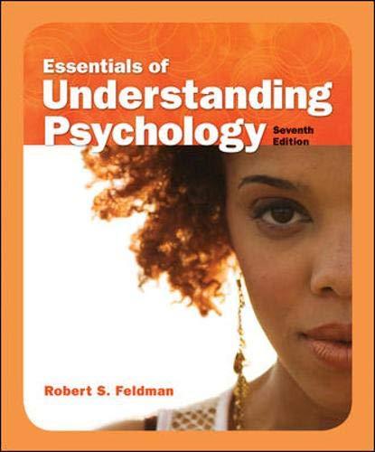9780073405490: Essentials of Understanding Psychology, Seventh Edition