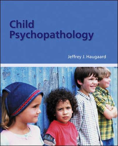 9780073405506: Child Psychopathology