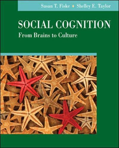 9780073405520: Social Cognition, from Brains to Culture
