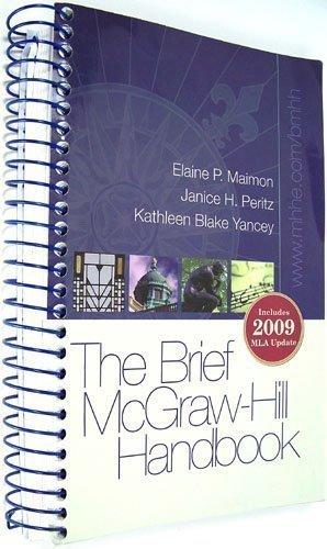 9780073405872: Brief McGraw-Hill Handbook (Includes 2009 MLA Update)