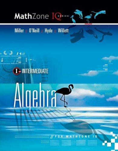 9780073406190: Intermediate Algebra (Mathzone IQ)