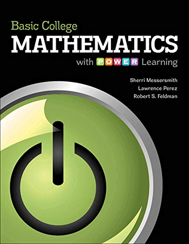 9780073406244: Basic College Mathematics with P.O.W.E.R. Learning