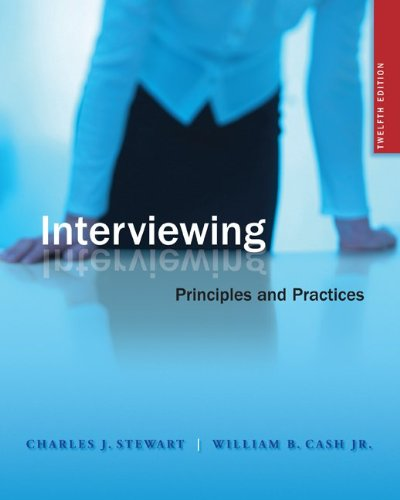 9780073406718: Interviewing: Principles and Practices