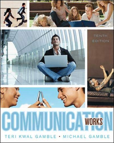 9780073406725: Communication Works