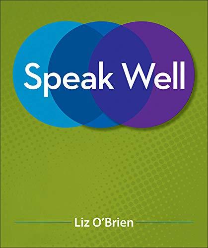 9780073406749: Speak Well