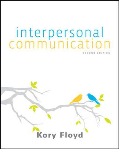 Interpersonal Communication (w/out Connect Access): Floyd