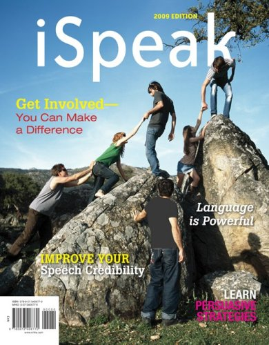 9780073406770: iSpeak: Public Speaking for Contemporary Life, 2009 Edition