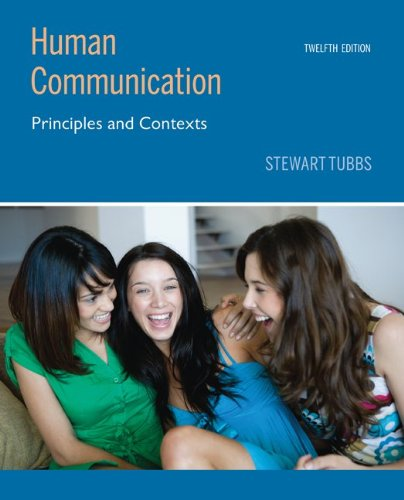 9780073406787: Human Communication: Principles and Contexts