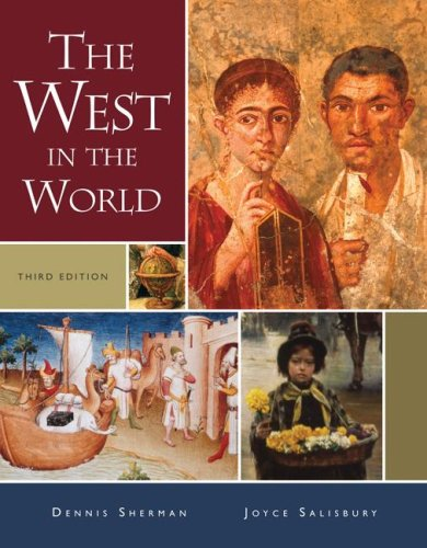 9780073406923: The West in the World