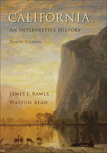 9780073406961: California: An Interpretive History