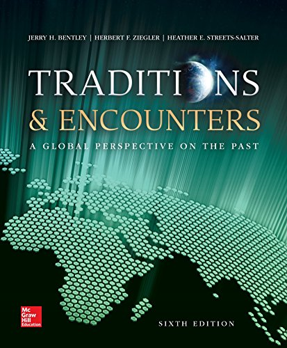 9780073407029: Traditions & Encounters: A Global Perspective on the Past