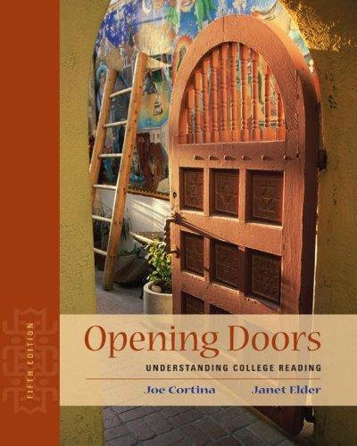 9780073407135: Opening Doors