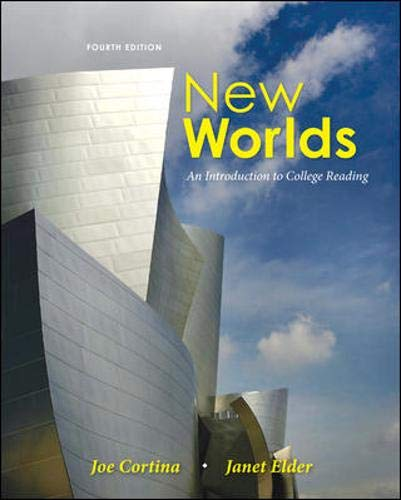 9780073407173: New Worlds: An Introduction to College Reading