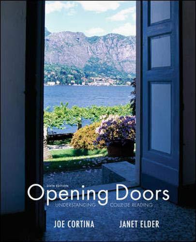 9780073407180: Opening Doors