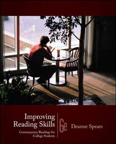 9780073407241: Improving Reading Skills