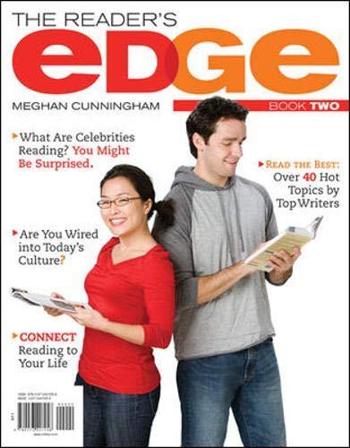 The Reader's Edge, Book II: Cunningham, Meghan