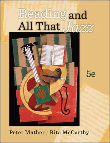 9780073407289: Reading and All That Jazz